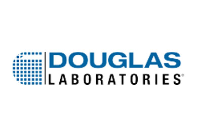 Douglas Laboratories button