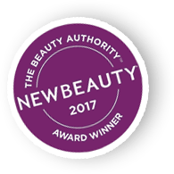 The beauty authority - new beauty 2017 award winner badge